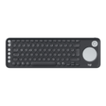 Logitech K600 RF Wireless + Bluetooth QWERTZ German Graphite,White
