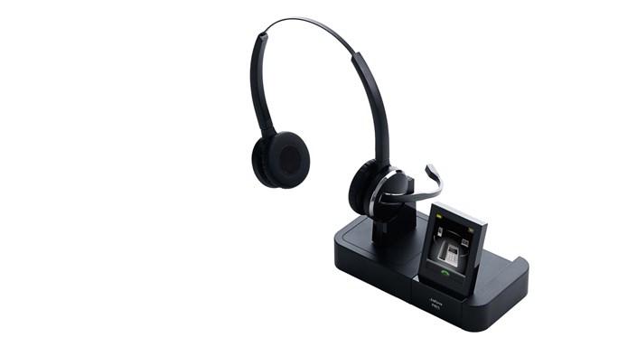 Jabra PRO 9465 Binaural Head-band Black headset