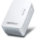 Trendnet Powerline 500 AV2 Wireless Access Point 500Mbit/s Ethernet LAN Wi-Fi White 1pc(s) PowerLine network adapter