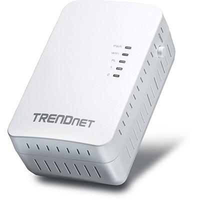 Trendnet Powerline 500 AV2 Wireless Access Point 500 Mbit/s Ethernet LAN Wi-Fi White 1 pc(s)