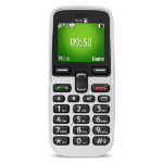 "Doro PhoneEasy 5030 4.32 cm (1.7"") 78 g White Senior phone"