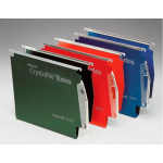 Rexel Crystalfile Extra `275` Lateral File 15mm Green (25)