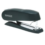 Rapesco Luna Half Strip Frnt Loading Stapler 20 Sheets Black
