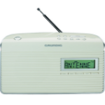 Grundig Music WS 7000 DAB+ radio Portable Analog & Digital Silver,White