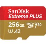 Sandisk Extreme PLUS memory card 256 GB MicroSDXC Class 10 UHS-I