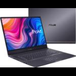 """ASUS ProArt StudioBook Pro 17 W700G1T-AV050R DDR4-SDRAM Notebook 43.2 cm (17"""") 1920 x 1200 pixels 9th gen Intel® Core™ i7 16 GB 512 GB SSD NVIDIA Quadro T1000 Wi-Fi 6 (802.11ax) Windows 10 Pro Grey"""