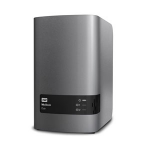 Western Digital My Book Duo 12TB NAS Desktop Stainless steel