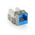 Black Box Jacks CAT6A GigaTrue2 - 1-Pack Blue