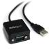 StarTech.com Cable Adaptador 1,8m USB a 1 Puerto Serie Serial RS232 DB9 FTDI Aislamiento Óptico