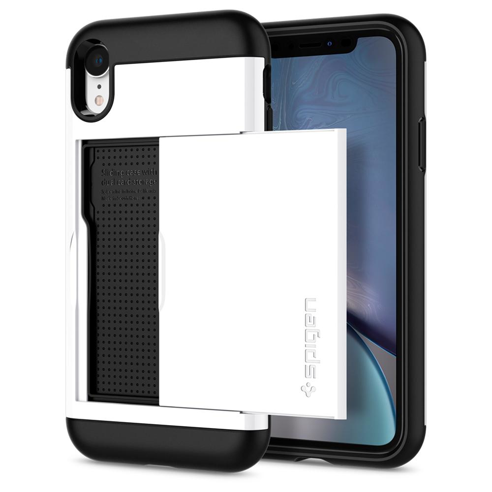 """Spigen Slim Armor CS mobiele telefoon behuizingen 15,5 cm (6.1"""") Hoes Wit"""