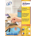 Avery AB1800 White Self-adhesive printer label printer label