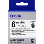 Epson LK-2TBN labelprinter-tape