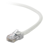 "Belkin Cat5e, 25ft, 1 x RJ-45, 1 x RJ-45, White networking cable 300"" (7.62 m)"