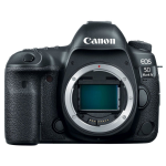 Canon EOS 5D Mark IV SLR Camera Body 30.4 MP CMOS 6720 x 4480 pixels Black