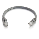 C2G 2m Cat6 Booted Unshielded (UTP) Network Patch Cable - Grey
