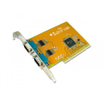Sunix SER5037A Dual Port Serial IO Card PCI Card - Dual Port Serial 2 RS-232 Serial Ports Speeds up to 115