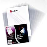 Rexel Nyrex™ A4 Cut Back Folders Clear (25)