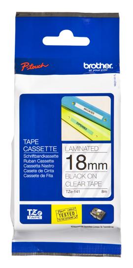 Brother TZE141 cinta para impresora de etiquetas