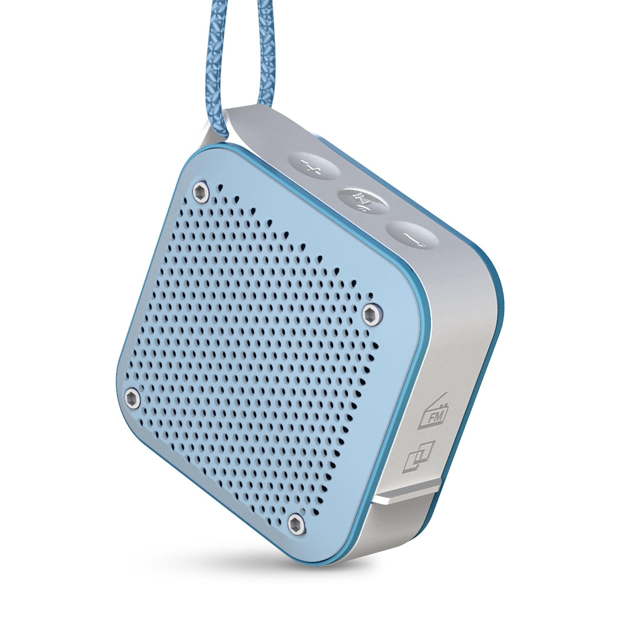Energy Sistem Outdoor Box Shower 5 W Altavoz portátil estéreo Azul, Gris