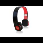 Adesso Xtream H2B Black,Red Supraaural Head-band