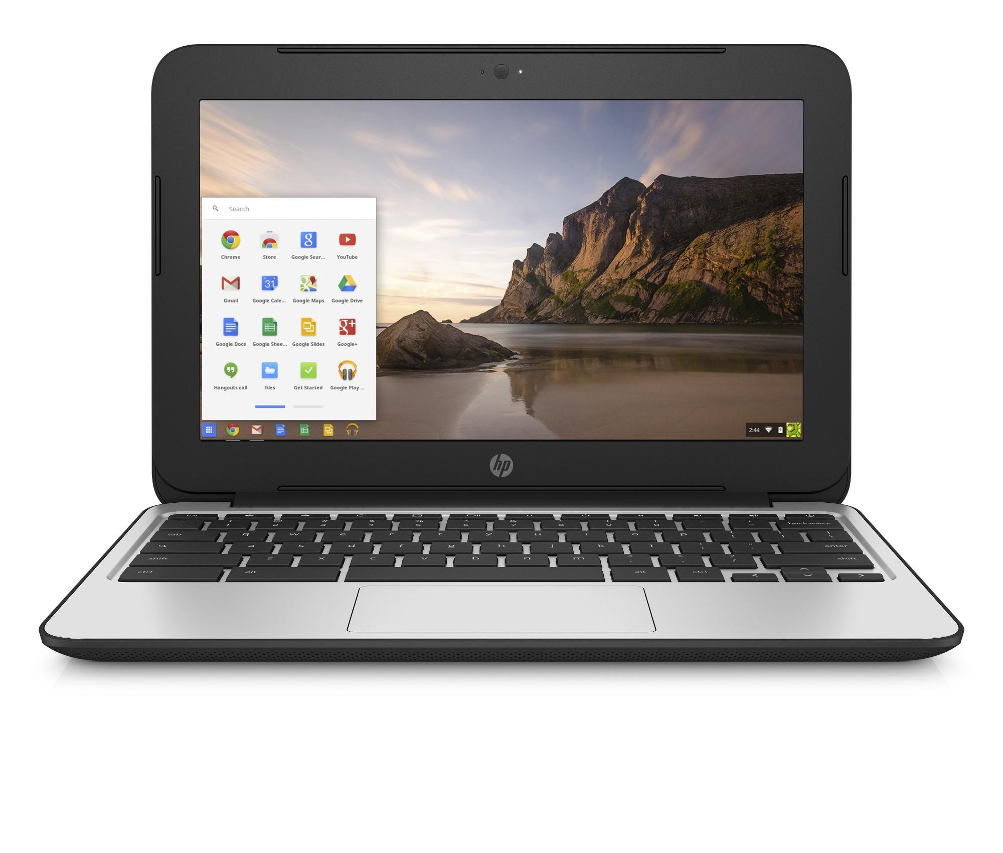 HP Chromebook 11 G4 Black,Silver 29.5 cm (11.6