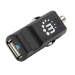Manhattan Car/Auto Charger, 1x USB-A Female Port, Charging 2.1A, Surge Protection, Blister