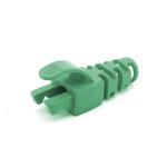 Cablenet RJ45 Snagless Strain Relief Flush Boot Green 6.5mm