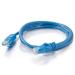 C2G Cat6a STP 5m cable de red Azul
