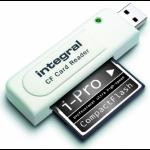 Integral INCRCF card reader White USB 2.0