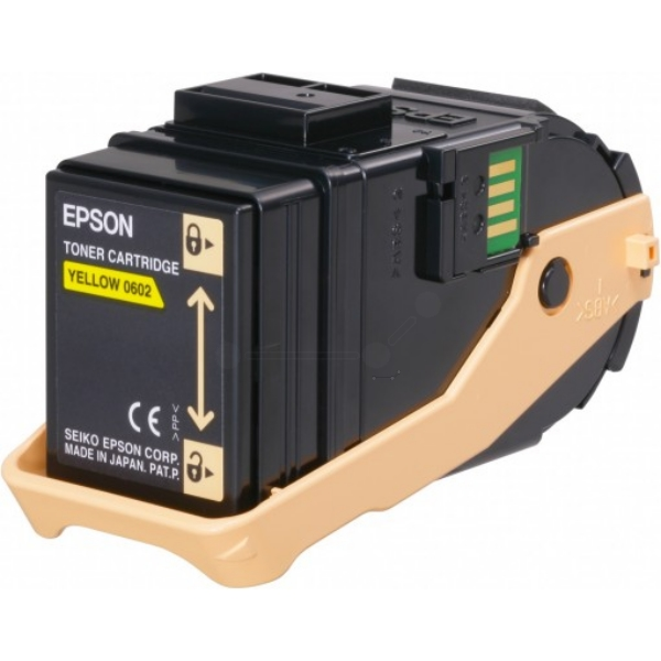 Epson C13S050602 (0602) Toner yellow, 7.5K pages