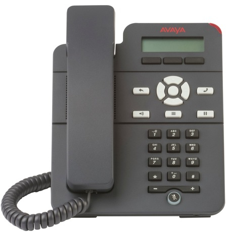 Avaya J129 Grey Wired handset 1lines LCD IP phone