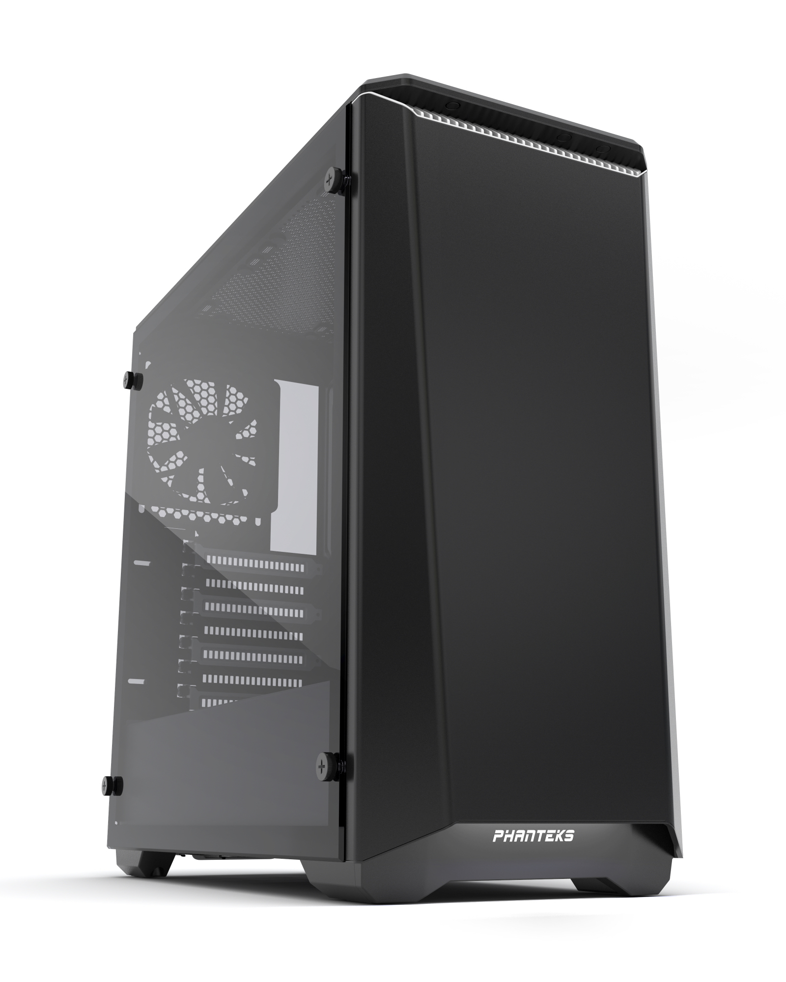 Phanteks Eclipse P400 Tempered Glass Midi-Tower Black,White computer case