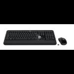 Logitech 920-008802 toetsenbord QWERTY Italiaans Zwart
