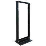 Tripp Lite SR2POST25 Freestanding 25U Black Rack