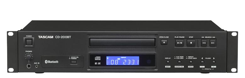 Tascam CD-200BT CD player Black