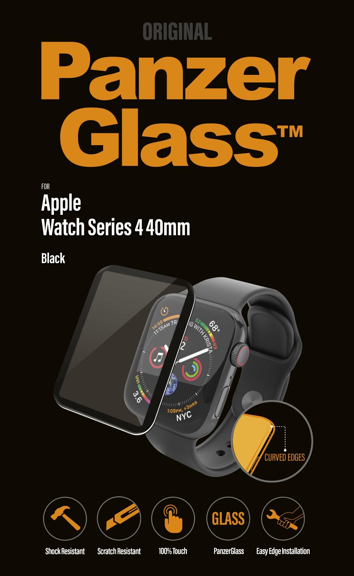 PanzerGlass 2013 accesorio de smartwatch Protector de pantalla Negro