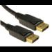 Cables Direct CDLDP-001LOCK DisplayPort cable 1 m Black