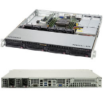 Supermicro SuperServer 5019P-MR Intel® C621 LGA 3647 Rack (1U) Black