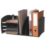 FastPaper Fast Paper Desktop Organizer 4 Comp Black DD