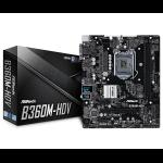Asrock B360M-HDV LGA 1151 (Socket H4) Intel® B360 micro ATX