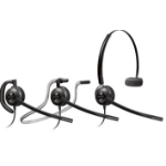 Plantronics HW540D Monaural Ear-hook,Head-band,Neck-band Black headset
