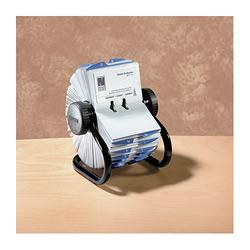 ROLODEX BUSINESS CARD FILE ROTARY ROLODEX 67236 400 CAP ( EACH )