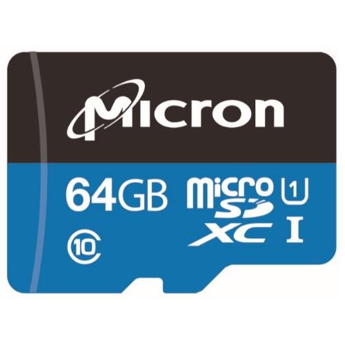Micron Industrial memory card 64 GB MicroSDXC Class 10 UHS-I