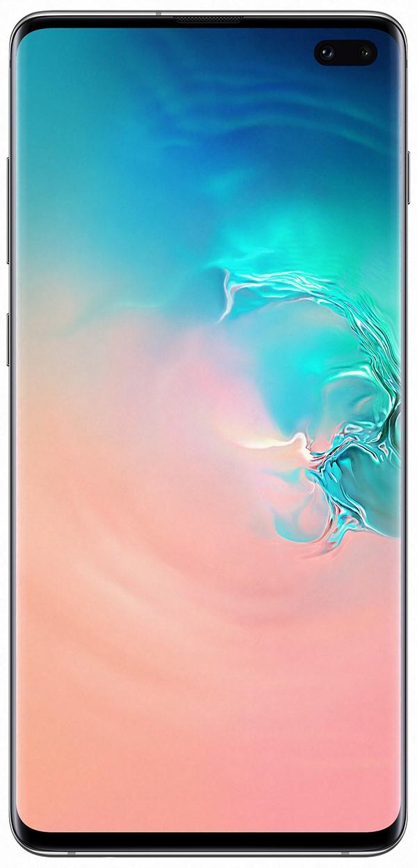 "Samsung Galaxy S10+ SM-G975F 16.3 cm (6.4"") 8 GB 128 GB White 4100 mAh"