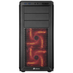 Corsair CC-9011036-WW Midi-Tower Black computer case
