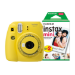 Fujifilm Instax Mini 9 Instant Camera including 30 Shots - Clear Yellow