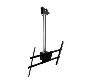 "Peerless MOD-FPSKIT100 flat panel ceiling mount 152.4 cm (60"") Black,Chrome"