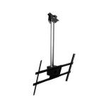 "Peerless MOD-FPSKIT100 60"" Black,Chrome flat panel ceiling mount"