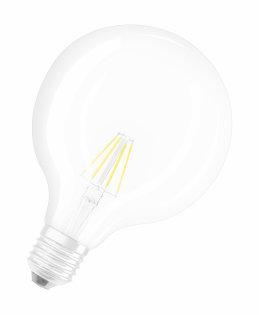 Osram Retrofit Classic Globe 6W E27 A++ Warm white LED bulb