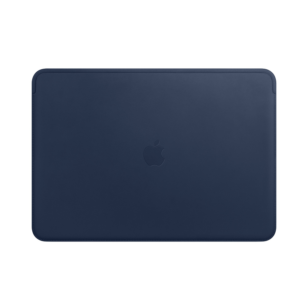 Leather Sleeve - 15in MacBook Pro - Midnight Blue